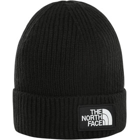 The North Face Box Logo Cuff Beanie Youth TNF black